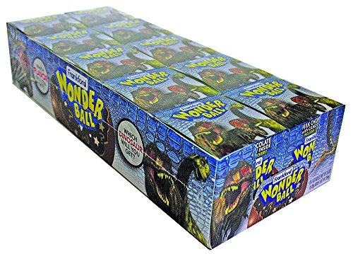 Frankford Candy Company Wonder Ball Dinosaur, Milk Chocolate, 1 Ounce (Pack of (Chocolate Ball Candy)