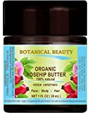 Rosehip Oil Hair Loss ROSEHIP SEED OIL - BUTTER ORGANIC 100 % Natural / VIRGIN / UNREFINED / RAW / 100 PURE BOTANICAL. 1 Fl.oz.- 30 ml. For Skin, Hair and Nail Care.