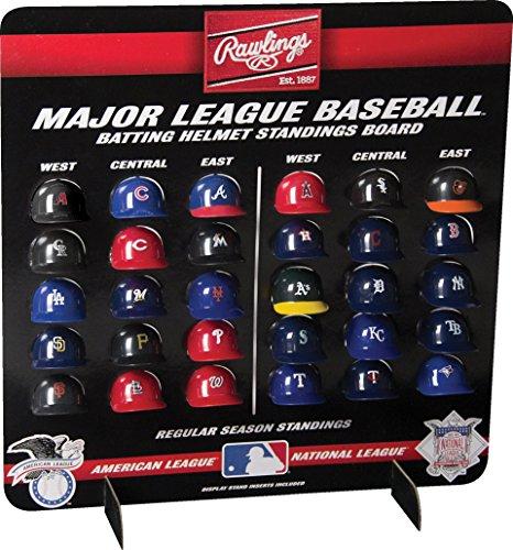 MLBMLB Deluxe Mini Helmet Standings Board