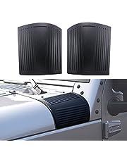 Black Cowl Body Armor for Jeep Wrangler JK JKU Unlimited Rubicon Sahara X Off Road Sport Exterior Accessories Parts 2007 2008 2009 2010 2011 2012 2013 2014 2015 2016 2017 ¡