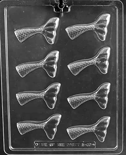 Mermaid Tail Chocolate Mold Party Favors Ships Same Day m352