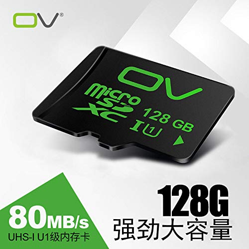 (OV 128g Mobile Phone Memory Card TF Card Class10 high-Speed Universal Mobile Phone Memory Card 80M / S high-Speed Memory Card Micro sd Card Nintendo NS Switch Tablet Generic Small Card)