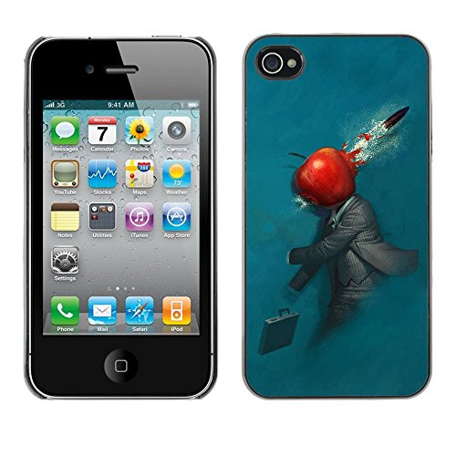 Abstract Apple - For Apple iPhone 4 / 4S