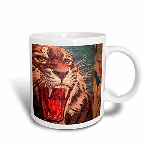 3dRose Florida, Sarasota, Ringling Museum, Circus Museum, Walter Bibikow, Ceramic Mug, 11-Oz
