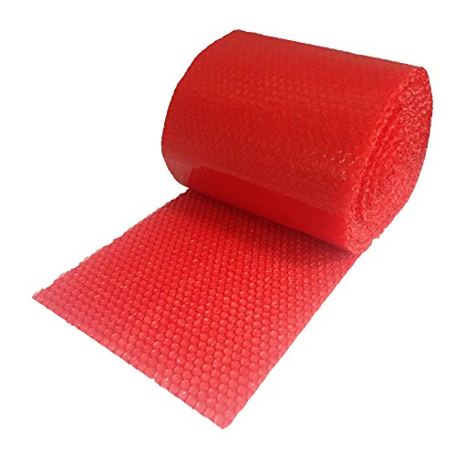 "Red Bubble Small 3/16"" Wrap x 12"" Wide"