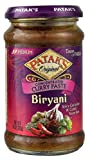 Patak's Original Biryani Curry Paste Concentrated Medium 10 oz(Pack of 6)