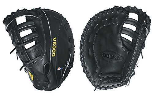 Wilson A2000 PS 1st Base Baseball Glove, Black, Left Hand Throw, 12-Inch