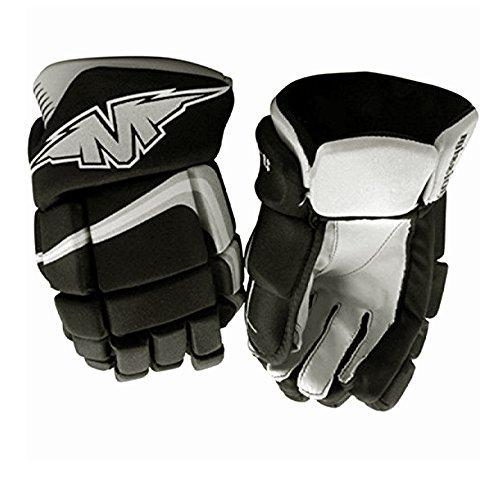Bauer Mission Axiom A3 Junior Roller Hockey Gloves Grey/Black (Mission Hockey Hockey Gloves)