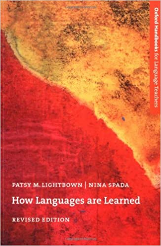 how languages are learned lightbown pdf