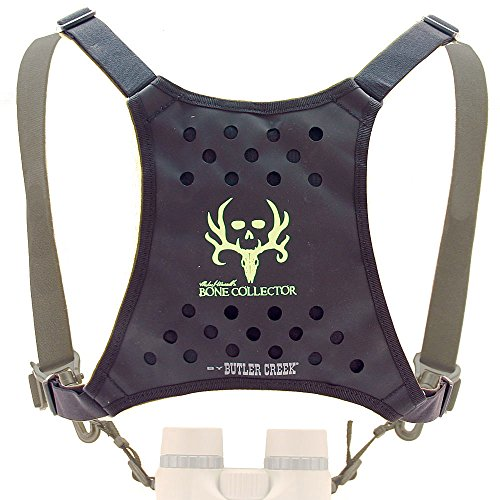 Butler Creek Bone Collector Edition Deluxe Bino Caddy Binocular Harness, Black