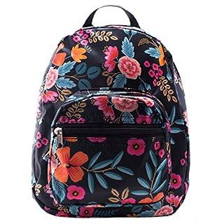 Mini Backpack - Floral Print - Blue