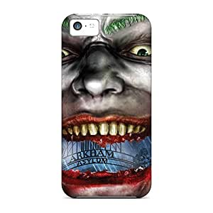 MFV42Gcoz 3d Smile To The Ears Fashion Tpu 5c Cases Covers For Iphone