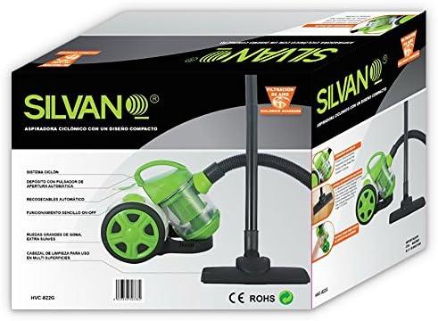Aspirador ciclónico de diseño compacto (verde): Amazon.es: Hogar