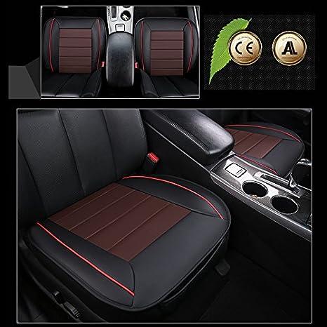 Ohne R/ückenlehne 2 Packung Vordersitzbezug HONCENMAX Autositz/überzug Kissen Pad Matte Schutz f/ür Autozubeh/ör f/ür Limousine Flie/ßheck SUV