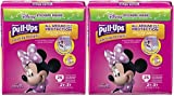 Pull-Ups Learning Designs Potty Training Pants for Girls, 2T-3T (18-34 lb.), 25 Count with Bonus Magnetic Diaper Size and Weight Chart (Pack of 2)
