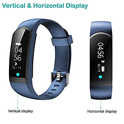 Fitness Tracker,Willful Heart Rate Monitor Watch Waterproof Smart Bracelet Activity Tracker with Sleep Monitor Step Calories Counter Alarm Clock Call Message App Notice for Android iOS Phones