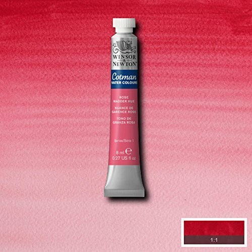 Winsor & Newton Cotman Watercolour Paint - 8ML Tubes - Rose Madder Hue