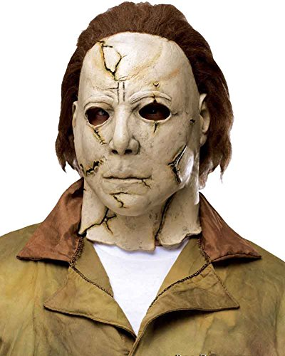 Fun World Kids' Big Michael Myers Child Mask-Rob Zombie's Halloween, Multi, Standard