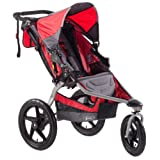 BOB Stroller Single Strides Fitness Stroller, Red