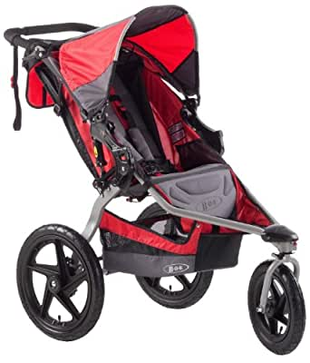 BOB Stroller Strides Single Fitness Stroller, Red