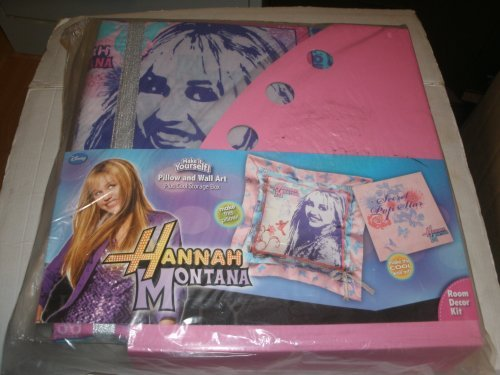 Hannah Montana Make It Your Self Pillow and Wall Art