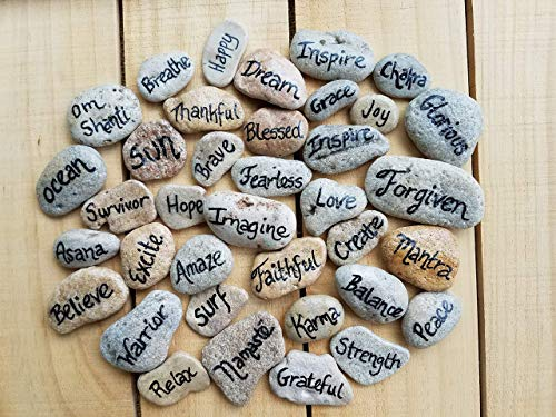 Inspirational Message Stones (Set of 6)