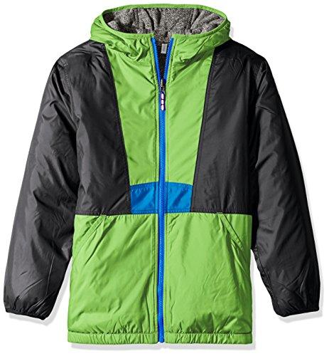 Columbia Big Boys' Flashback Insulated Jacket, Green Mamb...