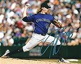 Autographed Jon Gray 8x10 Colorado Rockies Photo