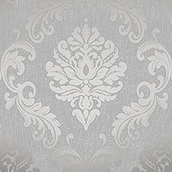 henderson interiors chelsea glitter damask wallpaper soft