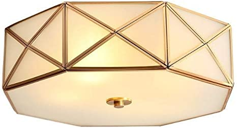 Deckenleuchte Alle Kupfer Deckenleuchte Country Home Minimalistischen Wohnzimmer Lampe Studie Lampe Schlafzimmer Lampe Led Lampen Amazon De Beleuchtung