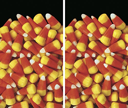 Candy Poster (WOWindow Posters Candy Corn Galore Halloween Window Decoration Two 34.5