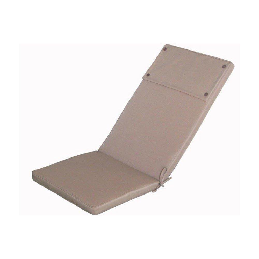 Cuscino imbottito tortora sfoderabile poltrona sedia esterno Real Alto Cu805701 Cosma