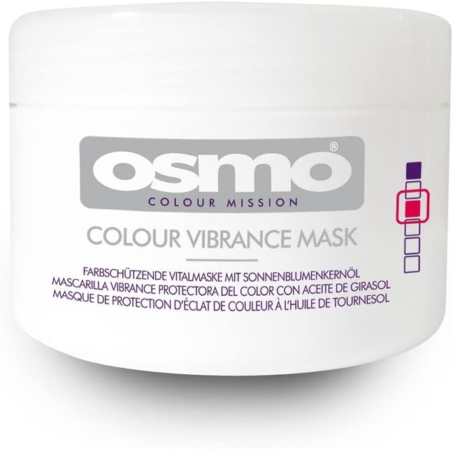 Máscara Osmo Color Misión Intensidad - Un Tratamiento Color acondicionado para el Fortalecimiento y brillo del pelo - 100 ml, 1 paquete (1 x 100 ml)