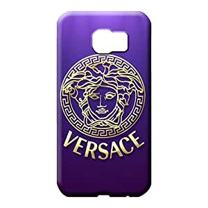 samsung galaxy s6 edge Shock-dirt High-end Hot New phone carrying case cover versace famous top?brand logo