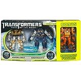 Transformers 3 Dark of the Moon Movie Exclusive Cyberverse Legion Class Action Figure 3Pack Bumblebee vs. Soundwave with Bonus Rodimus