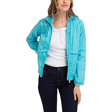 8acef91b3bf Amazon.com  U.S. Polo Assn. Womens Lightweight Windbreaker Jacket ...