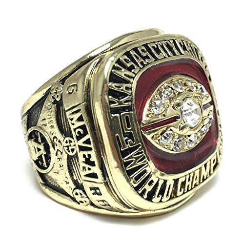 Kansas City Chiefs Super Bowl IV 1969 Ring sz 11 Warren Mcvea (11) -