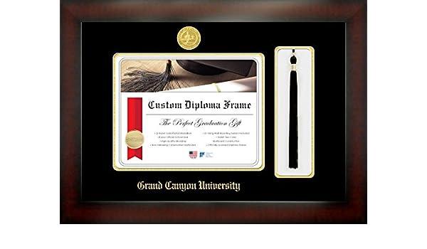 Amazon.com - Grand Canyon University 8½ x 11 Mahogany Finish ...