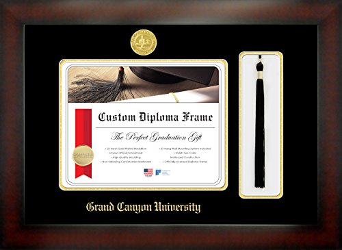 Grand Canyon University 8½ x 11 Mahogany Finish Infinity
