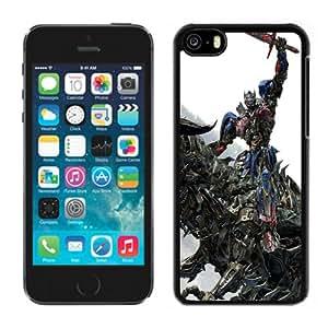 Popular And Unique Designed Case For iPhone 5C With Optimus Prime Riding Grimlock Phone Case Cover
