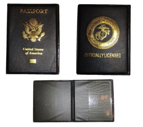 Moon Knives USMC United States Marine Corps EGA Vinyl Passpo