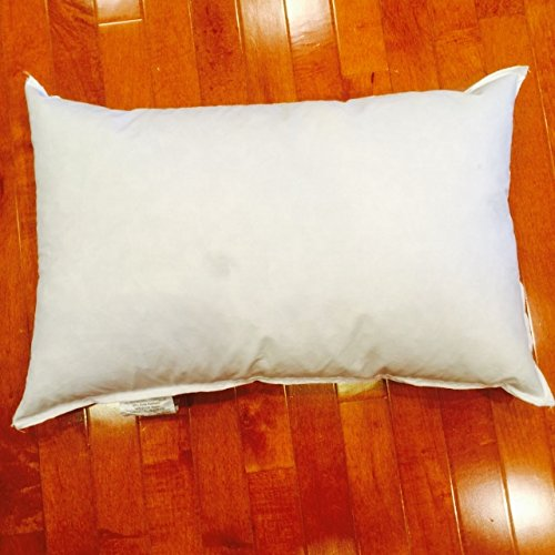 25/75 Down Feather Premium Pillow Form - 18 x 28 by Pillow Cubes