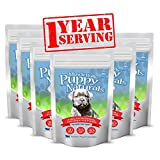 Puppy Naturals (360 Serving - 1 Year Supply) - A Healthy Nutritional Formula for Growing Puppies (For All Breeds).