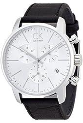Calvin Klein K2G271C6 43mm Stainless Steel Case Crocodile Mineral Men's Watch