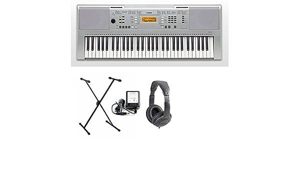 Yamaha YPT 340 teclado 61 teclas dinamici completa de soporte ...