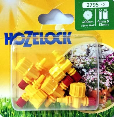 Aspersor 360 ° de alcance ajustable Hozelock riego jardín jardín jardín exterior: Amazon.es: Jardín