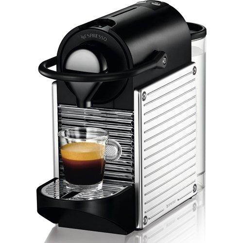 Nespresso Pixie Espresso Maker, Chrome C60-US-SS-NE
