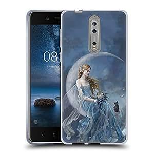 Official Nene Thomas Wind Moon Fairies Soft Gel Case for Nokia 8