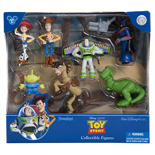 Disney Parks Exclusive Toy Story 7 Piece Figure Set Playset -