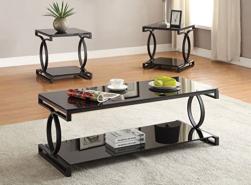 Acme 3Pc Pk Coffee/End Table Set - 24 Table Top Width x 20 T